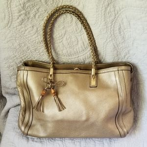 Gucci Gold Leather Bella Bag